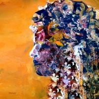 Abstract Girl Profile