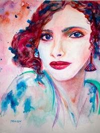 Turquoise Eyed Beauty