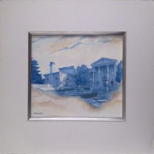 Watercolor of Villa
